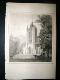 Holland Netherlands C1850's Antique Print. Zeyst